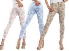 SLIDE jeans boyfriend baggy with print 3 buttons COLOR P78 NEW (read please)   eBay
