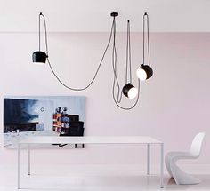 AIM, visionary lighting by the Bouroullec brothers for FLOS