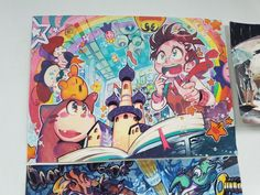 Colorful Drawings, Art Drawings, Illustration Story, Exotic Art, Happy Art, Sketchbook Inspiration, Illustrations And Posters, Ghibli, Cute Art