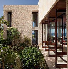 The Casa Kimball by Architect firm Rangr Studio is a unique and stunning modern rental villa located in Cabrera in Dominican Republic. Architecture Details, Interior Architecture, Interior And Exterior, Interior Design, Concrete Jungle, Vacation Villas, My Dream Home, Dream Homes, Beach House