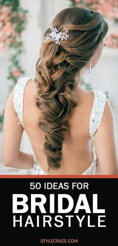 If you wanted to try the most elegant hairstyle for your reception, then here are the top 10 bridal hairstyles for reception that can aid you.