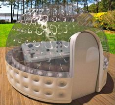 Smartest Tech Stuff Inflatable Hot Tub Spa Solar Dome Cover Tent Structure W/Pump & Anchors diameter) Hot Tub Gazebo, Hot Tub Deck, Hot Tub Backyard, Outdoor Spa, Outdoor Decor, Jacuzzi Outdoor, Whirlpool Spa, Best Inflatable Hot Tub, 3d Cinema