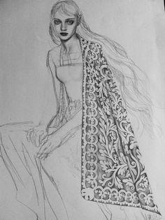 Fashion illustration // Mei Meizhen