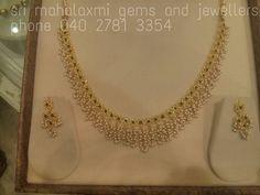 Bcuh India Jewelry, Pearl Jewelry, Gold Jewelry, Beaded Jewelry, 1 Gram Gold Jewellery, Temple Jewellery, Gold Earrings Designs, Pearl Chain, Latest Jewellery