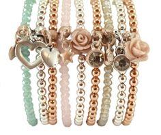 Mooie set armbanden en kettingen