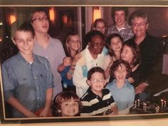 #TBT in honor of grandma Aggie, our angel. She was my best friend, my confidant, and the sister I never had. She is very loved and missed by all who knew her. This is us with all of our grandchildren.