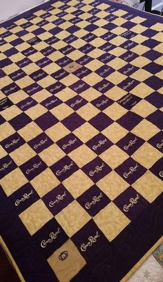 Crown Royal Quilt Custom Made to Order Crown by LuluBelleQuilts