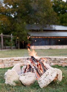 Fire Pit at Pecan Grove