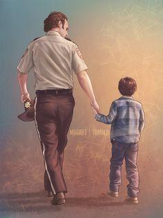 Rick & Carl Grimes | The Walking Dead (AMC)