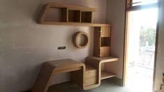 Tv Unit Furniture Design, Tv Unit Design, Bedroom Furniture Design, Design Bedroom, Bed Design, Wood Furniture, House Hall Design, Home Room Design, Dining Room Design
