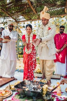 A Gorgeous South Indian Wedding In Mysore And A Bride In A Stunning Crimson Kanjeevaram - WedMeGood - Indian Wedding Planning Website - internationally inspired South Indian Silk Saree, South Indian Wedding Saree, South Indian Bridal Jewellery, Indian Wedding Wear, Indian Wedding Planning, South Indian Weddings, South Indian Bride, India Wedding, Indian Groom