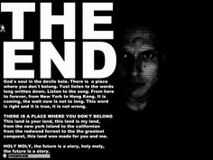 THE END OF THE WORLD AS WE KNOW IT. DID YOU KNOW THAT THE HISTORY IS ALREADY WRITTEN? The End, End Of The World, Did You Know, Knowing You, Entertainment, Songs, Writing, Humor, History