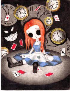 Alice In Wonderland by ~3m0-p03t on deviantART