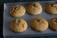 Whole wheat nankhatai recipe with step by step photos. Nankhatai are Indian style cookies made with flour, ghee, sugar and cardamom powder. Indian Desserts, Indian Sweets, Indian Food Recipes, Vegan Recipes, Caramel Custard Recipe, Custard Recipes, Apple Cake Recipes, Cupcake Recipes, Dessert Recipes