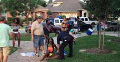 African American teen was harassed by white police officer during a pool party #McKinney
