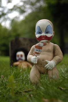 clown baby dolls
