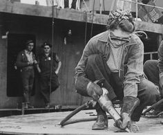 ICON | WWII Shipbuilder - Tomboy Style