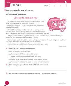 Cuaderno Actividades Lenguaje 3º Foreign Language, My Job, Alter, Nonfiction, Teaching Resources, Fails, Texts, Spanish, Classroom
