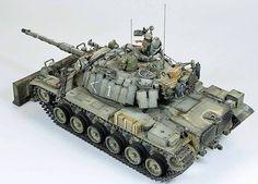 Magach 6MEM Tadach IDF by modeler Lucas Zaromitidis