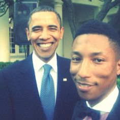 Barack & Pharell. They should produce an album together.