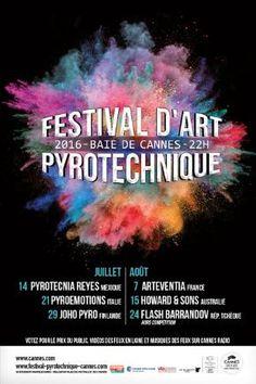 Festival d'art pyrotechnique - © Ville de Cannes
