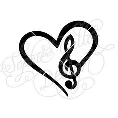 love music music heart musical notes digital clip art set rh pinterest com Music Notes Music Notes Graphics