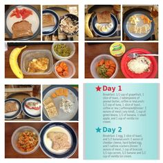 Another Successful 3 Day Military Diet By Vicki With A Few - Health & Diet Guide - Diat Breakfast Food List, Easy Healthy Breakfast, Eating Healthy, Military Diet Substitutions, Blood Type Diet, Diet Recipes, Healthy Recipes, Chicken Breast Recipes Healthy, Diet Food List