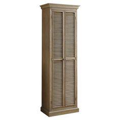 Found it at Wayfair - 2 Door Storage Cabinet in Grey great idea for an extra bath linen closet
