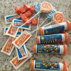 Nerf Party - Consumables for goodie bags Birthday Party Goodie Bags, 5th Birthday Party Ideas, Birthday Treats, Party Treats, 8th Birthday, Party Bags, Nerf Party Food, Pistola Nerf, Party Planning