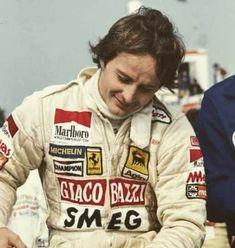 Belgian Grand Prix, Gilles Villeneuve, Formula One, F1, Ferrari, Gallery Wall, Racing, Historical Pictures, Running