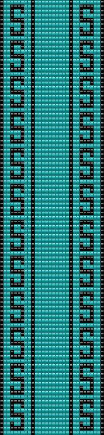 2 Loom Patterns BT-050