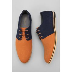 Modern oxford from Hawkings McGill. Woven canvas uppers with colorblocking. Tonal corded laces. Cushioned footbed. Flat synthetic sole. UO Exclusive. Content &…