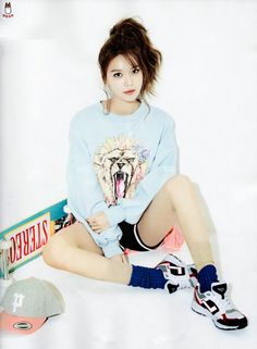 Sooyoung on CeCi Magazine Feb 2015 Issue