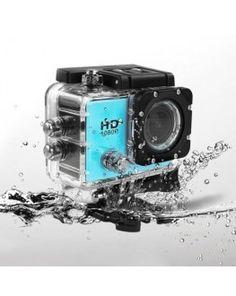SJCAM SJ5000 12MP FHD 1080P 2.0 Inch LCD LTPS Screen Waterproof Sports HD DV Camera with 170 Degree Wide-angle Lens(Blue)
