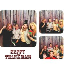 Yup we be a merry merry bunch! Way too much fun! @karlogesner great photo booth! #smiles #merryholiday #michellerene5 #friends (at Commonwealth On Queen)