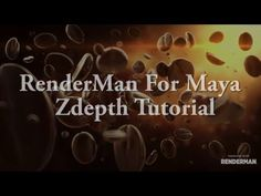 RenderMan for Maya Zdepth tutorial 2 - YouTube