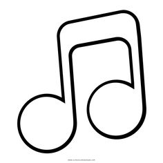 24 mejores imágenes de notas musicales dibujos | Music Notes