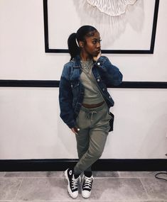 Cute Swag Outfits, Cute Comfy Outfits, Outfits With Converse, Tomboy Outfits, Chill Outfits, Girls Fall Outfits, Dope Outfits, Fall Winter Outfits, Trendy Outfits