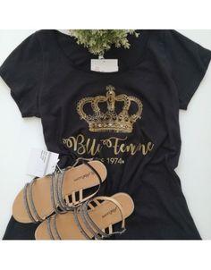 T-shirt με τύπωμα Στέμμα