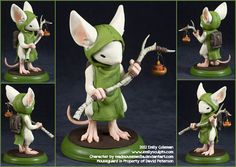 Commission : Mouseguard, Lessie of Ivydale by *emilySculpts on deviantART
