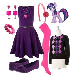 """Twilight Sparkle"" by ru-debega ❤ liked on Polyvore featuring My Little Pony, Forever 21, Closet, Blowfish, Fantasy Jewelry Box, Big Baby, Tarina Tarantino and Apt. 9"