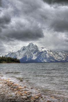 Jackson Lake and the Grand Tetons