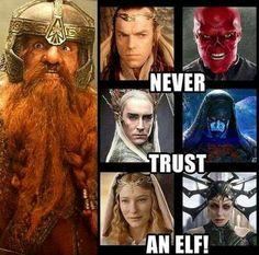 Listen to the dwarf...
