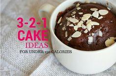 Friday Five: Weight Watchers 3-2-1 Cakes   Slender Kitchen