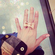 Kate Spade Bow Ring