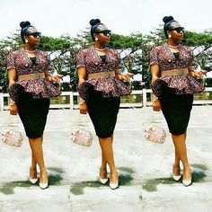 Howdy ladies, these are latest ankara dress styles you haven't rock. This is an opportunity for you to rock the kind of ankara styles Ankara Dress Styles, Latest African Fashion Dresses, African Dresses For Women, African Attire, Women's Fashion Dresses, Ankara Tops, Blouse Styles, Fashion Styles, African Print Dress Designs