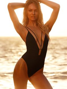 Double-strap Plunge One-piece - Very Sexy - Victoria's Secret would be stunning on you!