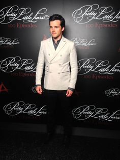 Ian Harding at the #PLL 100th episode party!