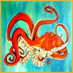 Gorgeous Octopus Print