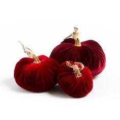 LoveFeast Shop - Velvet Pumpkin Holiday Reds Trio, $106.00 (http://www.lovefeastshop.com/velvet-pumpkin-holiday-reds-trio/)